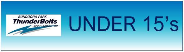 Bundoora Park Thunderbolts Under 15