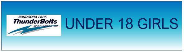 Bundoora Park Thunderbolts Under 18 Girls